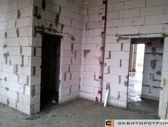 Работы по устройству наружных стен и стен-перегородок