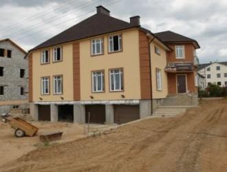 Строительство двухэтажного коттеджа в поселке Новинки