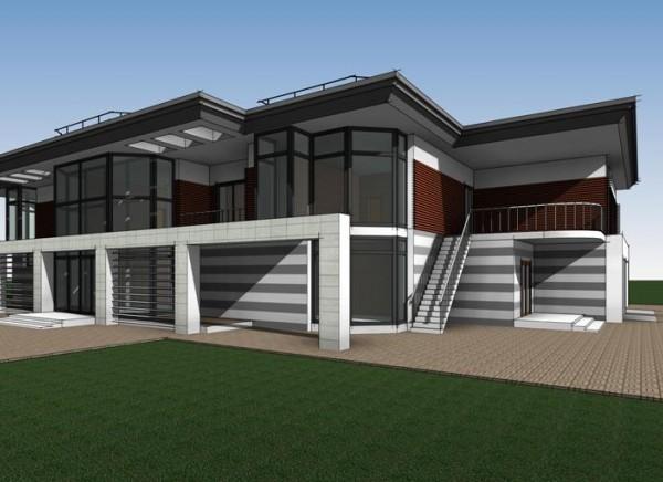 Разработка строительного проекта многофункционального развлекательного комплекса с бассейном для г. Тюмень