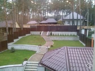 Ландшафтный дизайн и благоустройство в поселке Криничный (7 соток)