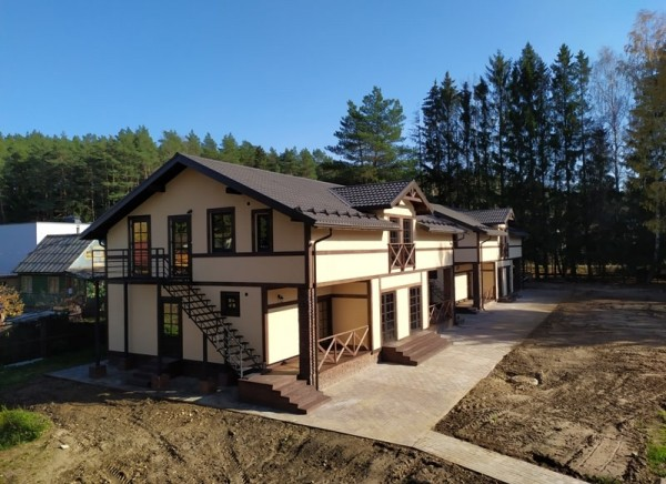 Проектирование двух деревянных каркасных домов для Минск-Арена (реализовано)