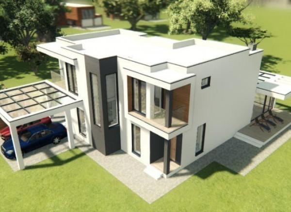 Архитектурное проектирование индивидуального жилого коттеджа г. Краснодар Россия
