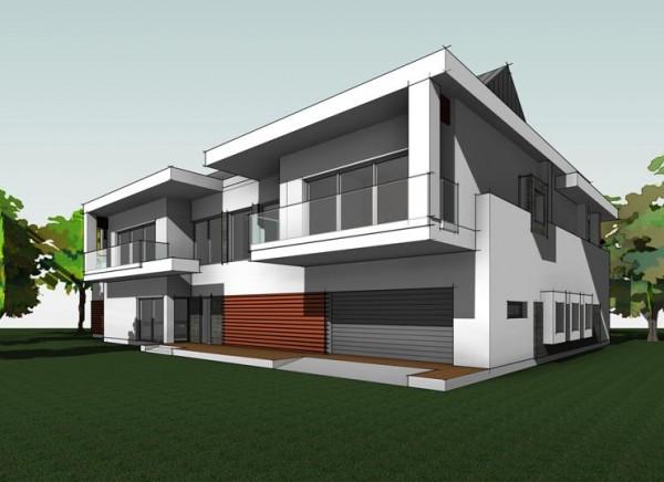 Разработка архитектурно-строительного проекта индивидуального жилого дома г. Новороссийск