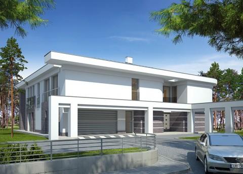 Проект дома LK&854