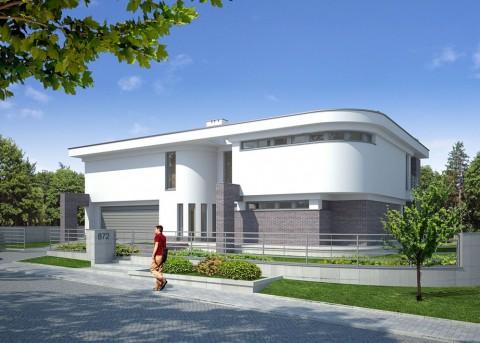 Проект дома LK&872