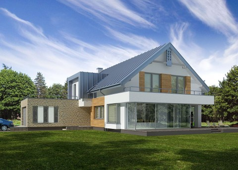 Проект дома LK&879