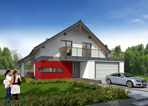 Проект дома LK&895