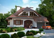 Проект дома LK&1061
