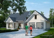 Проект дома LK&1067