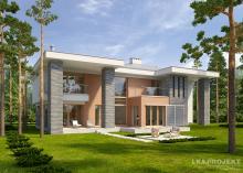 Проект дома LK&1070