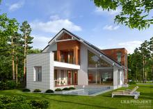 Проект дома LK&1082