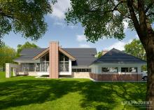 Проект дома LK&1085
