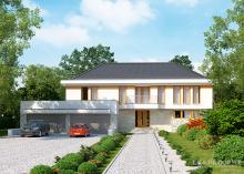 Проект дома LK&1086