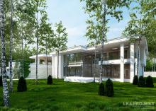 Проект дома LK&1087