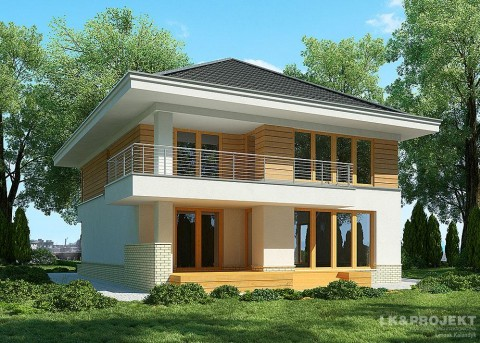 Проект дома LK&896