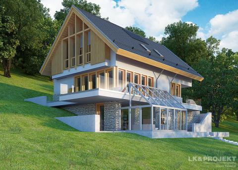 Проект дома LK&1096