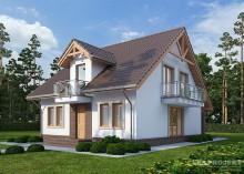 Проект дома LK&725