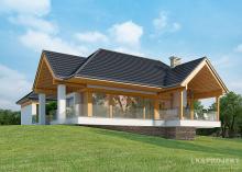 Проект дома LK&1116