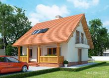 Проект дома LK&1118