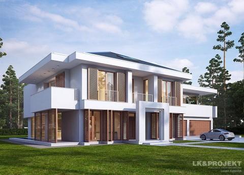Проект дома LK&1121