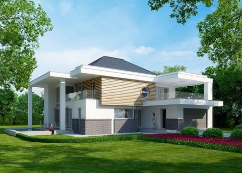 Проект дома LK&991