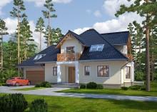 Проект дома LK&1013