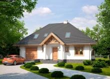 Проект дома LK&1030