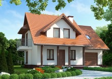 Проект дома LK&1033