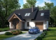 Проект дома LK&1034