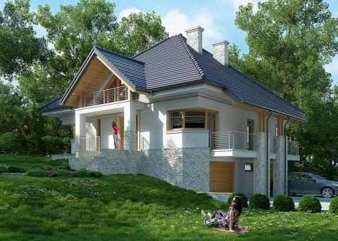 Проект дома LK&1042