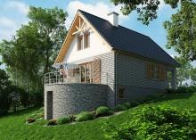 Проект дома LK&1058