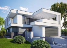 Проект дома LK&1136 двухэтажного