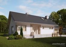 Проект дома LK&1176