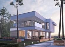 Проект дома LK&1252