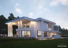 Проект дома LK&1230