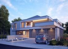 Проект LK&1231 дома двухэтажного