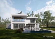 Проект дома LK&1258