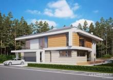 Проект дома LK&1255 двухэтажного
