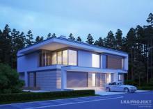 Проект дома LK&1255