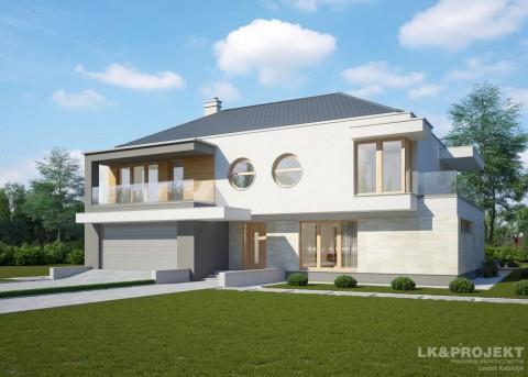 Проект дома LK&1211