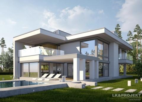 Проект дома LK&1232