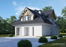 Проект дома LK&1244
