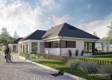 Проект дома LK&1332