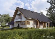 Проект дома LK&1351
