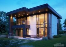Проект дома LK&1417