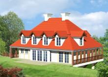 Проект дома LK&43
