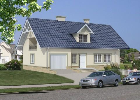 Проект дома LK&57