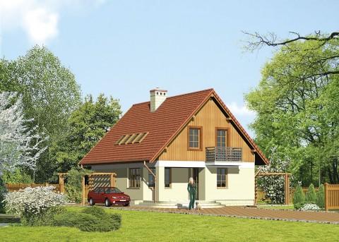 Проект дома LK&89