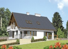Проект дома LK&102