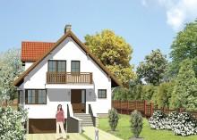 Проект дома LK&130